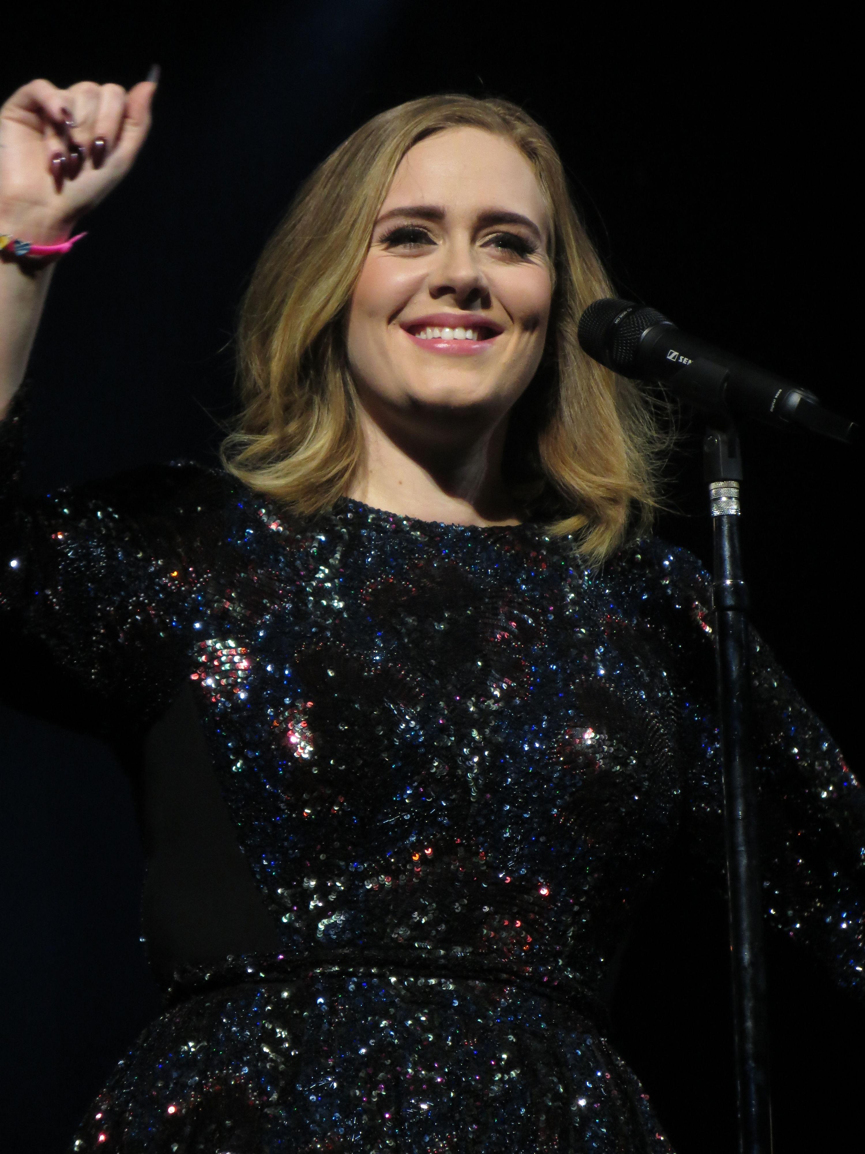 Adele Pop Artist Concert UK