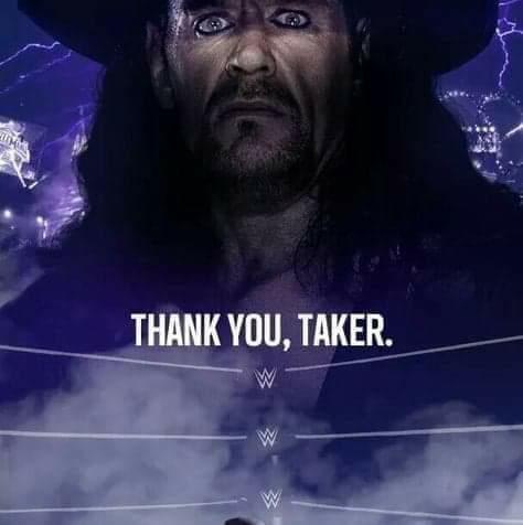 Thank you Taker!!!
