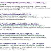 Claim your Name on Findit like CPC Pools Get Indexed in Search Engines 404-443-3224