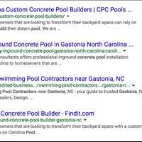 Carolina Pool Consultants Indexing in Google Claim Your Name on Findit 404-443-3224