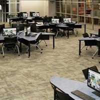 Custom Conference Table 800-770-7042 SMARTdesks Learning Furniture smart design collaborative