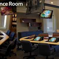 Smart Custom Collaborative Conference Table 800-770-7042 SMARTdesks