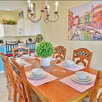 Dining 546 Brunello Drive, Davenport, Florida, 33897 Vacation Rental 866-500-4576