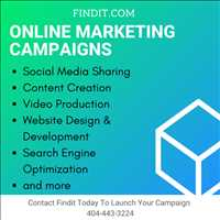 Improve Online Presence Findit Marketing Campaigns Search and Social Media Marketing 404-443-3224
