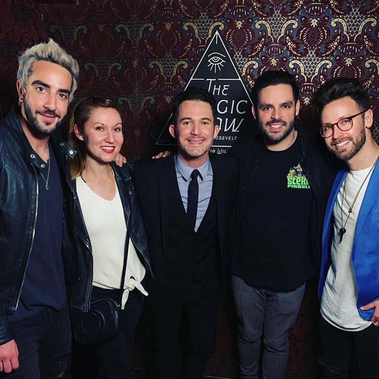 Last night @justinwillman made my doubt and skepticism in magic