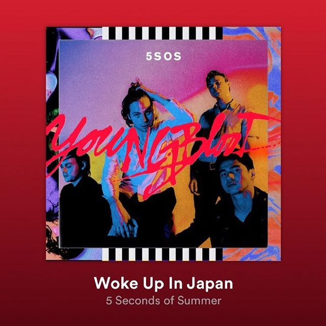 """Glad to call you friends and Honored to have co-written """"Woke Up In Japan."""""""