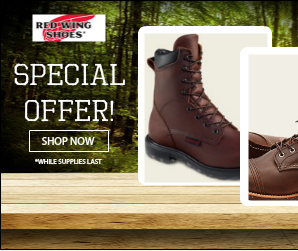 Red Wing Boots Cincinnati Special Offer