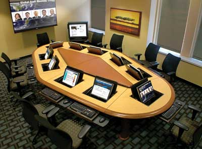 Build Group Dynamic In Your Business With A Piano Conference Table - Build a conference table