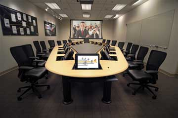 Collaborative Conference Table From SMARTdesks We Design Build - Build a conference table