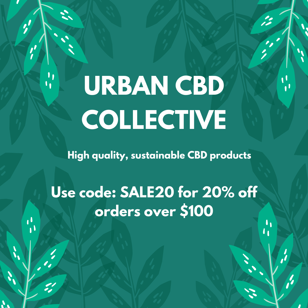 High quality sustainable CBD oil and premium hemp products from Urban CBD Collective