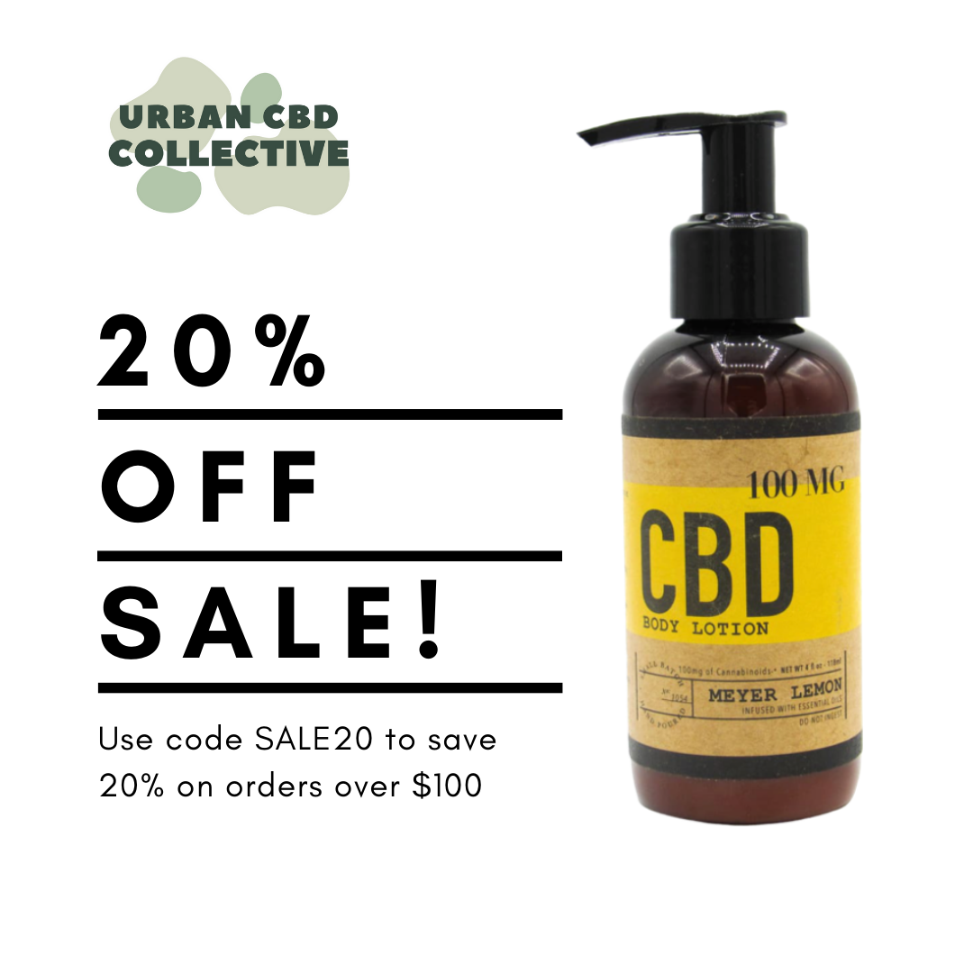 Use code SALE20 at checkout for 20% off your orders of $100 or more!