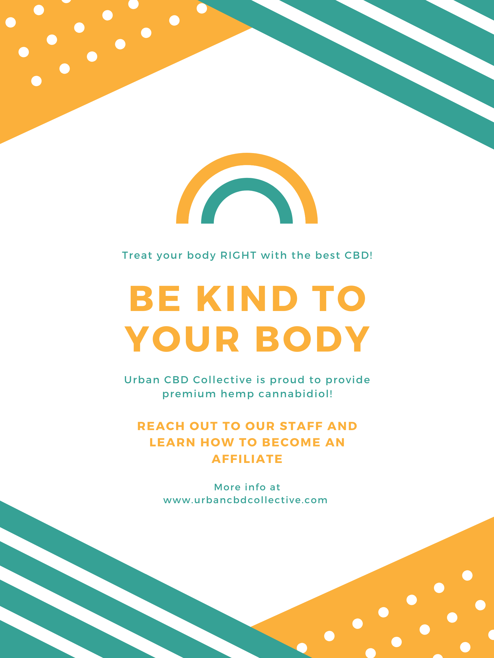 Be kind to your body with the best CBD Oil and Topical Products for sale from Urban CBD Collective