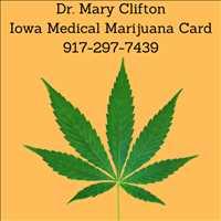Dr Mary Clifton Iowa Medical Marijuana Card 917-297-7439