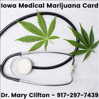 Get Your Iowa Medical Marijuana Card Online Dr Mary Clifton 917-297-7439