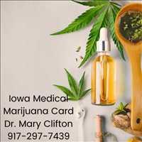 Dr Mary Clifton Iowa Medical Cannabis Card 917-297-7439