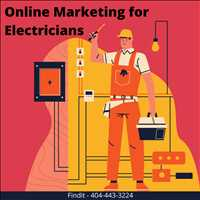 Professional Online Marketing Campaigns for Electricians Call Findit at 404-443-3224