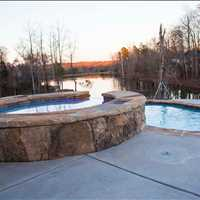 Mooresville North Carolina Custom Inground Concrete Inground Pool Installation Call 704-799-5236