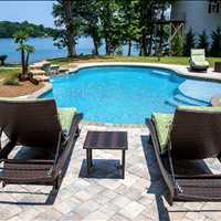 Mooresville North Carolina Concrete Inground Pool Installation from CPC Pools Cal us at 704-799-5236