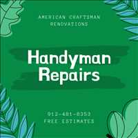 Professional Handyman Repairs Savannah GA Home Improvements 912-481-8353