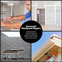Free Handyman Repair Estimates and Home Improvement Services in Savannah 912-481-8353