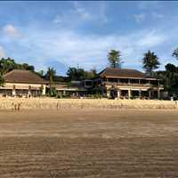 Beachfront Pool and Restaurant Four Seasons Jimbaran Bay