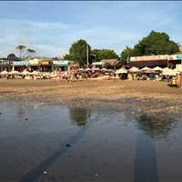 Restaurants Along Beach Next To Four Seasons Jimbaran Bay