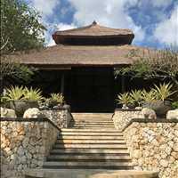 Lobby From Below Four Seasons Jimbaran Bay