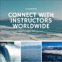 Classworx Is The Best Virtual Instructor Directory Connecting Instructors with Students 470-448-4734