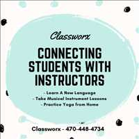 Connect with Students Virtually Classworx Instructor Directory Offer Classes 470-448-4734