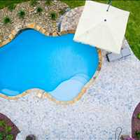 High end inground concrete pool construction  in Denver NC 704-799-5236