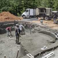 Denver NC Concrete Pool Construction CPC Pools 704-799-5236
