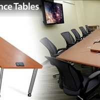 Conference Table Collaborative Work Space SMARTdesks 800-770-7042
