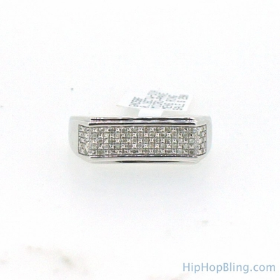 Diamond Bar Classic Ring .18 Carats