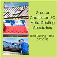 Beaufort South Carolina Professional Metal Roofing Company Titan Roofing 843-647-3183