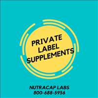Best Private Label Supplements Manufacturing Company NutraCap Labs 800-688-5956