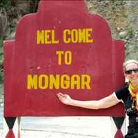 Entering Mongar Bhutan