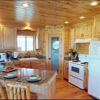 Kitchen 3414 Killdeer Court Island Park Idaho 83429 Vacation Rental 866-500-4576