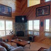 Great Room 3414 Killdeer Court Island Park Idaho 83429 Vacation Rental 866-500-4576