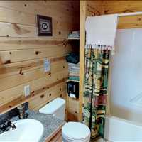 Bathroom 3414 Killdeer Court Island Park Idaho 83429 Vacation Rental 866-500-4576