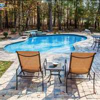 Iron Station NC Inground Luxury Custom Concrete Pools from Carolina Pool Consultants - 704-799-5236