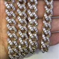 We crafted these cuban chains from solid 10K gold, high quality hip hop jewelry from Hip Hop Bling