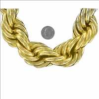 Gold Dookie Rope Chain