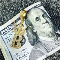 Bling Bling Pendants With 100 Benjamin