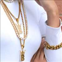 Fire hip hop chains for sale from Hip Hop Bling
