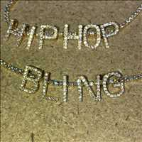 Personalized Letter Bling Pendants