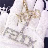 Custom pendants and custom jewelry from Hip Hop Bling