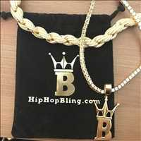 Gold and Diamond Rope Chains For Sale