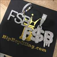 Customs done for Canary Young, big ups - get your customs from Hip Hop Bling
