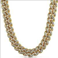 Pure Money Bling Bling Baguette Chains