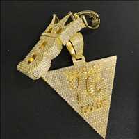 Fresh custom bling pendants from Hip Hop Bling